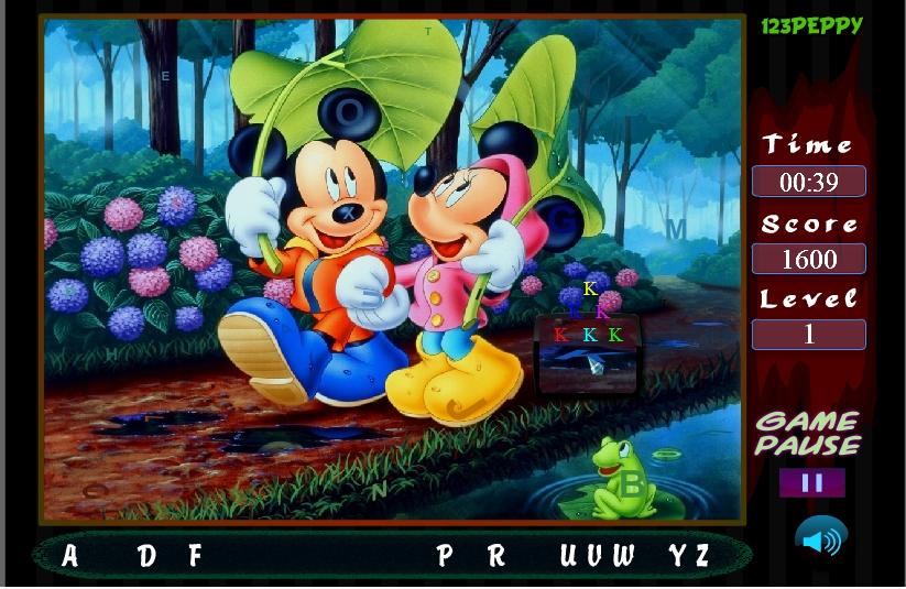 Игра Микки Маус со своей подружкой онлайн