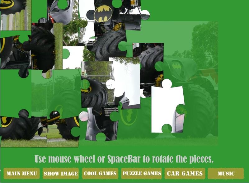 Игра Monster Truck Batman онлайн