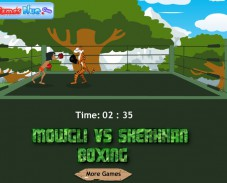 Игра Mowgli vs Sherkhan Boxing онлайн
