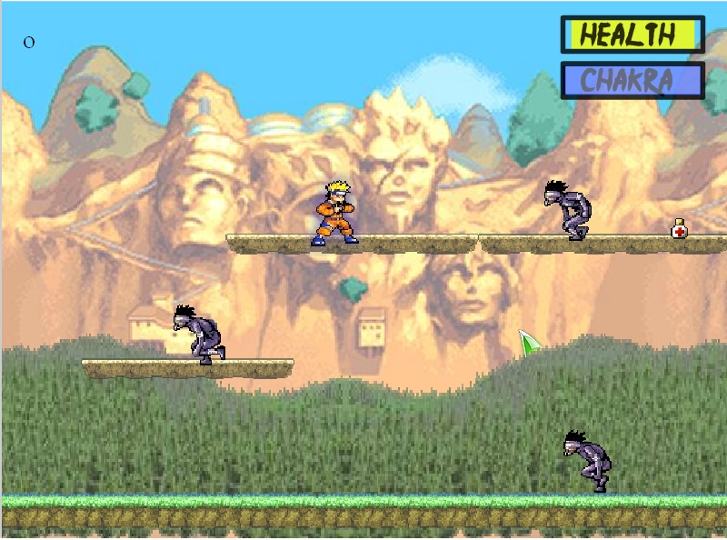 Игра Naruto Battle Grounds онлайн