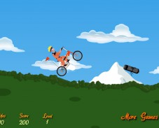 Игра Naruto Bicycle Game онлайн