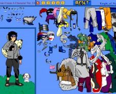 Игра Naruto Character Creation онлайн