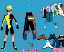 Игра Naruto Dressup онлайн