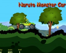 Игра Naruto Monster Car онлайн