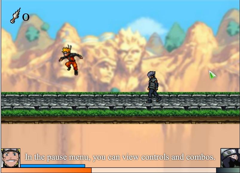 Игра Naruto RPG 2 онлайн