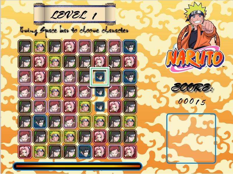 Игра Naruto: The Quest онлайн