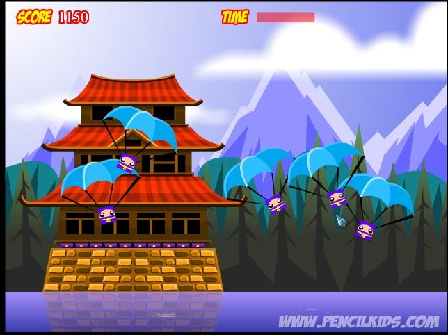 Игра Ninja Cubes онлайн