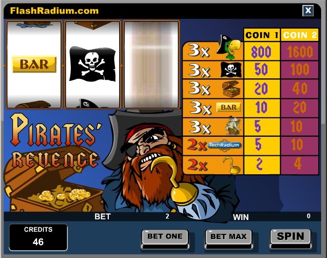 Игра Pirates Revence онлайн