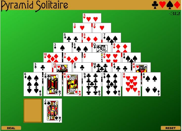 Игра Pyramid Solitaire онлайн