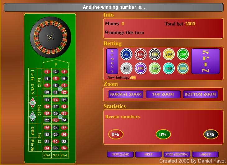 Игра Roulette v.1.0 онлайн