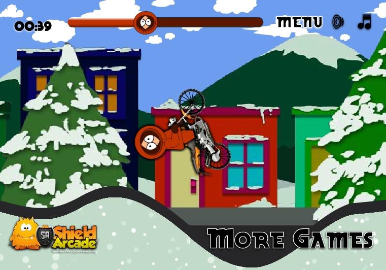 Игра South Park Bike онлайн