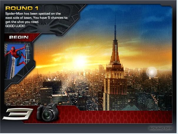 Игра Spidermand 3 Photohunt онлайн