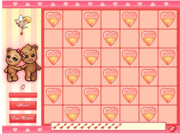 Игра Влюблённые мишки онлайн