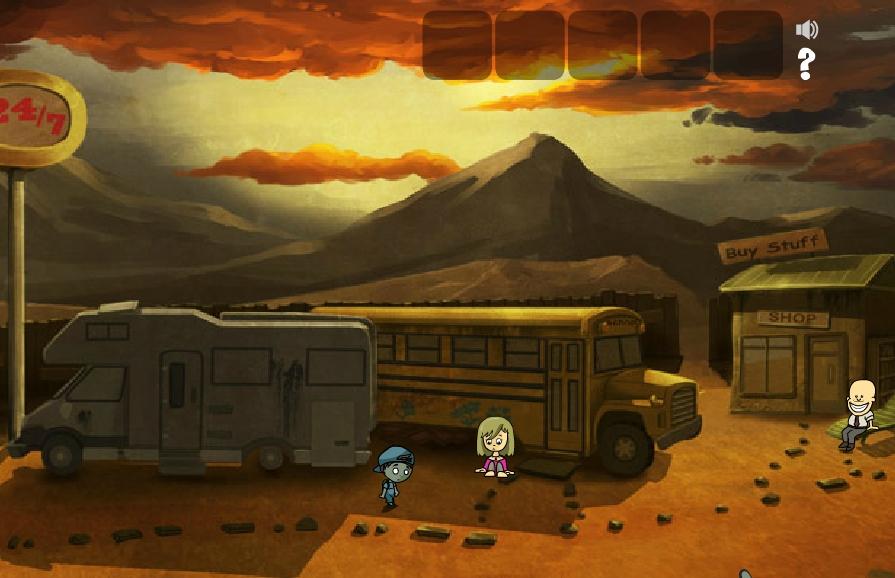 Игра The Adventures of Zomboy онлайн