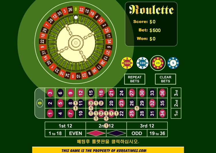 Игра Top View Roulette онлайн
