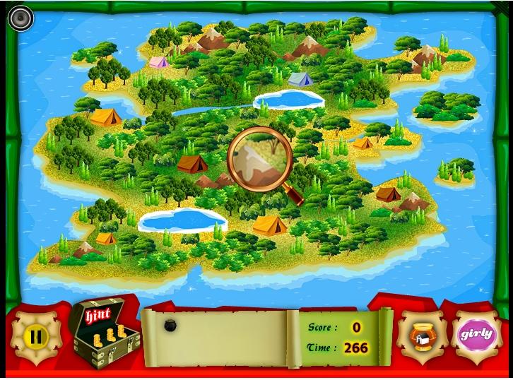 Игра Treasure Island Hidden Game онлайн