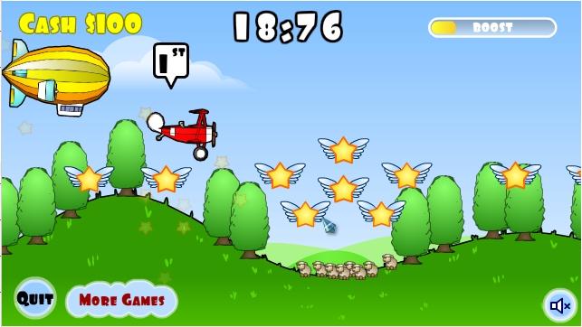 Игра Wacky Wings онлайн