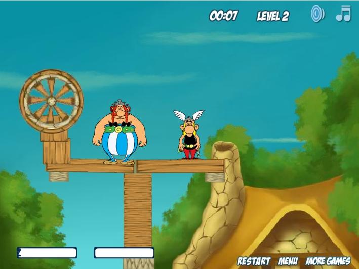 Игра Wake Up Asterix & Obelix 2 онлайн