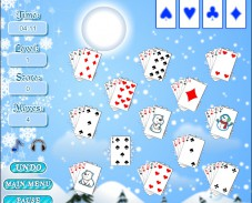 Игра Winter Solitaire онлайн