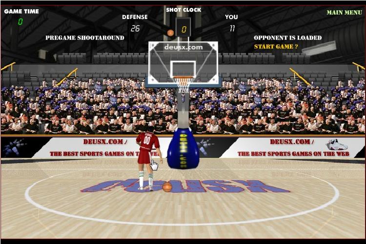 Игра Баскетбол против Обамы онлайн