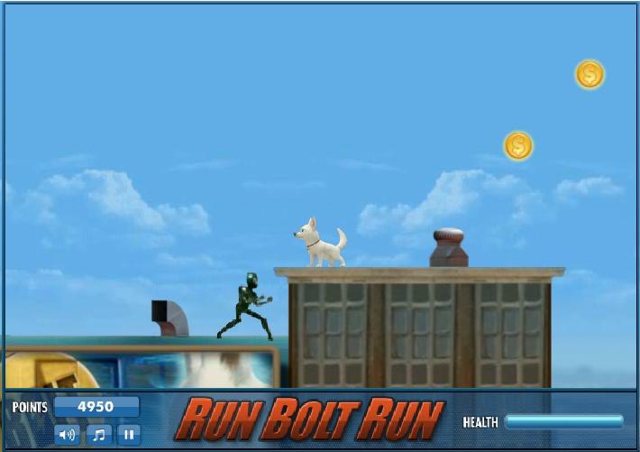 Игра Беги, Вольт, беги! онлайн
