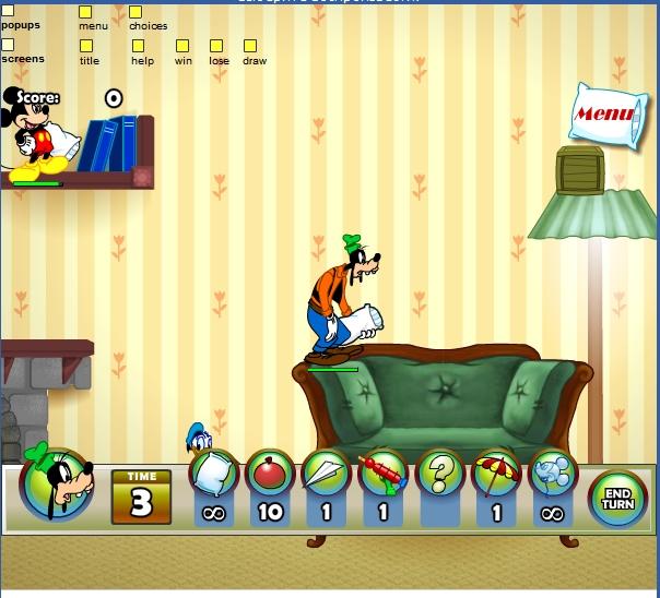 Игра Бои подушками онлайн