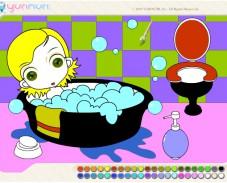 Игра Веселая ванная комната онлайн
