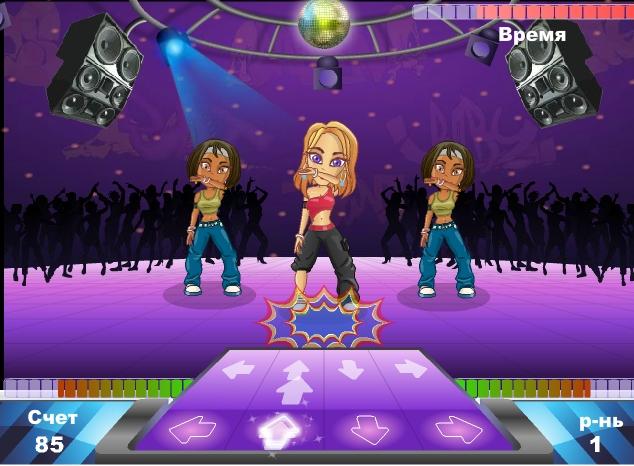 Игра Взрывные танцы онлайн