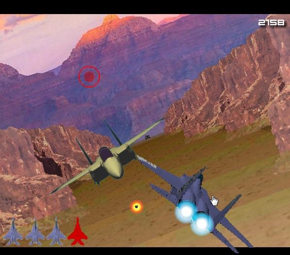 Игра Воздушный бой в горах онлайн