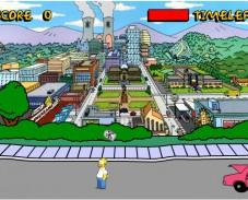 Игра Гомер Симпсон и пивные банки 2 онлайн