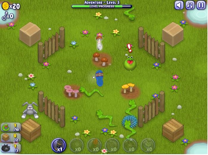 Игра Грибо-кролики онлайн