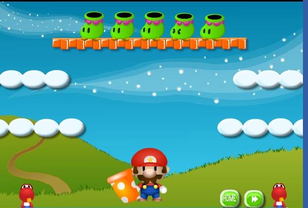 Игра Динозавр Ёши и Марио онлайн