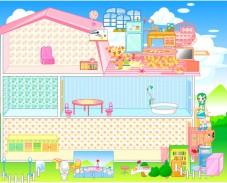 Игра Домик для Барби онлайн