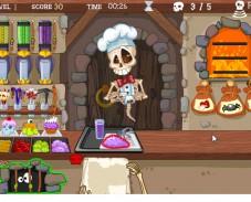 Игра Жуткая кулинария онлайн