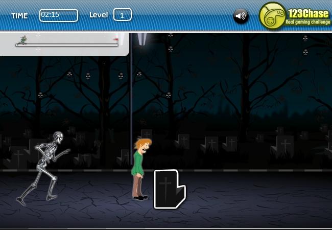 Игра Жуткий побег Скуби Ду онлайн