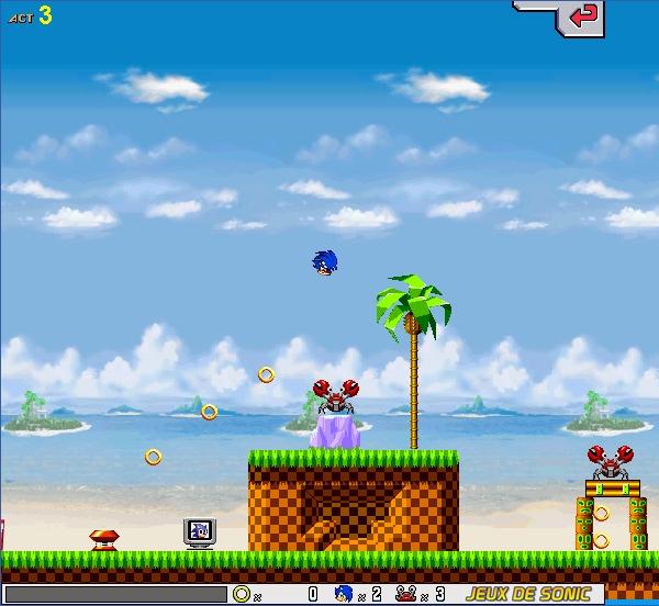 Играть бесплатно в флеш игру Злой Соник - играй онлайн