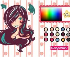 Игра Красим волосы онлайн