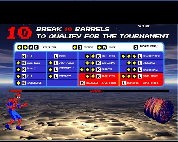 Игра Кровавый турнир онлайн