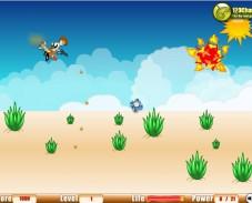 Игра Леталка Бен-10 онлайн