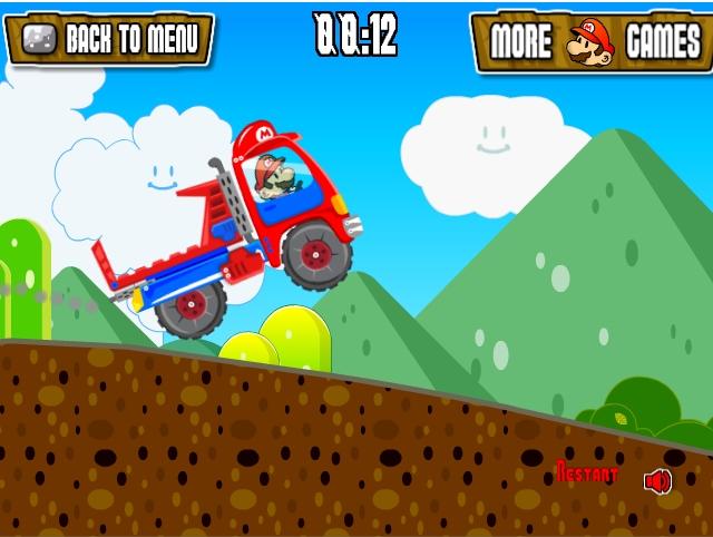 Игра Марио на грузовике 2 онлайн