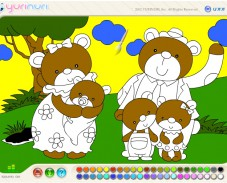 Игра Медвежья семья онлайн