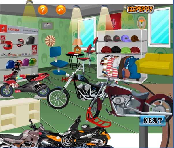 Игра Мотомагазин онлайн