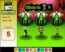 Игра Найди меня — Бен 10 онлайн