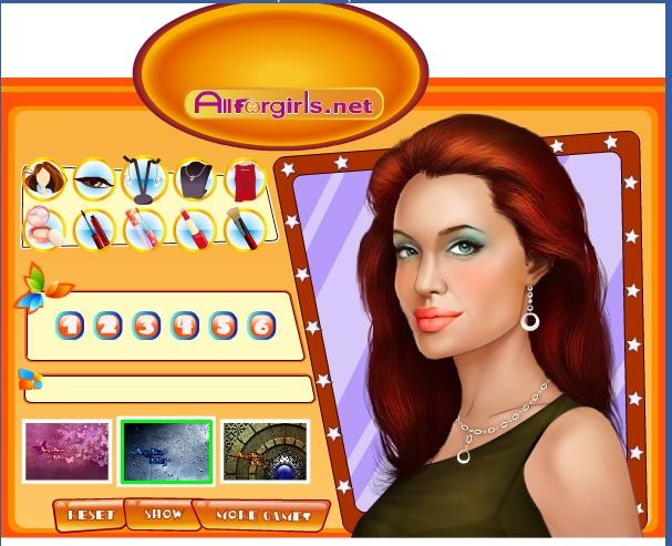 Игра Новая Анджелина Джоли онлайн