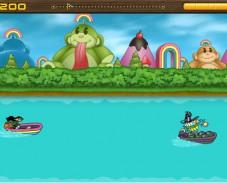 Игра Обезьянка в лодке онлайн