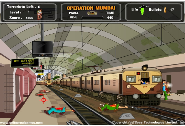Игра Операция в Мумбаи онлайн