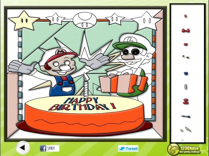 Игра Пазлы Марио и Луиджи онлайн