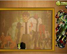 Игра Пазл с вращением: Бен-10 онлайн