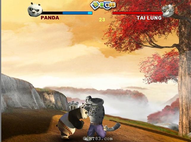 Игра Панда Кунг-Фу: Смертельный Матч онлайн