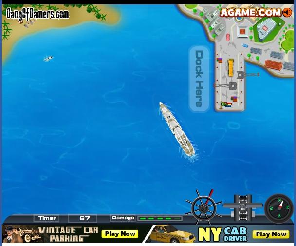 Игра Парковка для крейсера онлайн